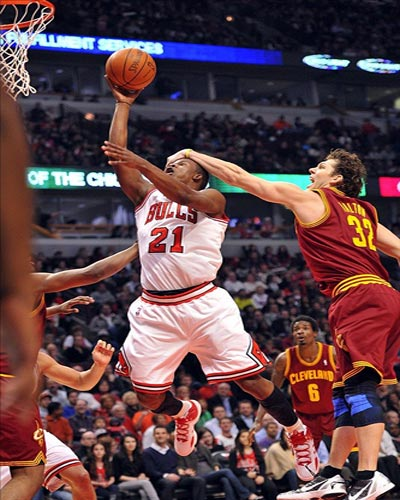Chicago Bulls guard Jimmy Butler