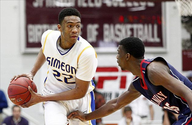 Chicago Simeon Wolverines forward Jabari Parker