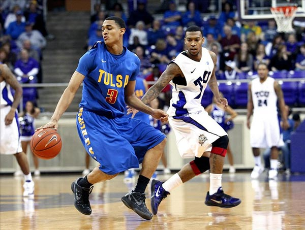 Tulsa Golden Hurricane guard Jordan Clarkson